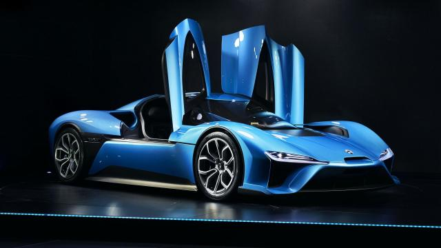 World's Fastest Electric Car Made in China