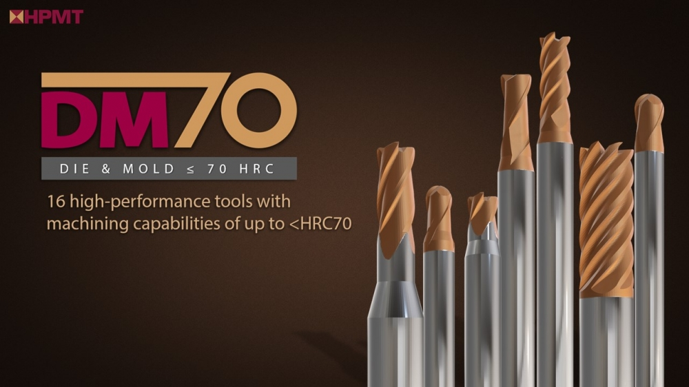 DM70 – Our latest High-Performance series for Mould & Die applications