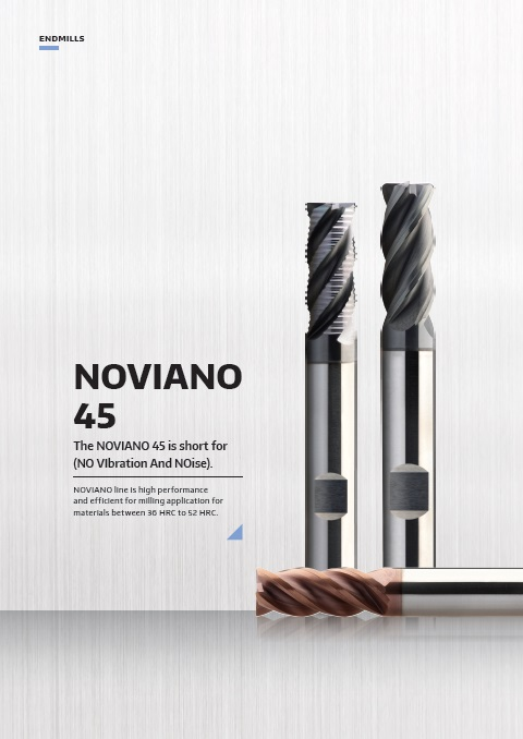 NiTiCo 45 Series Performance End Mill