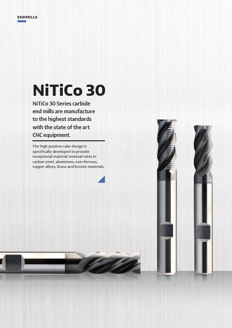 NiTiCo 30 Series End Mill